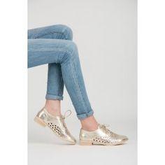 Dierkované šnurovacie poltopánky 8144-37GO Pumps, Heels, Fashion, Heel, Moda, Fashion Styles, Court Shoes, Shoes Heels, Fasion