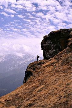 Trekking in the Indian Himalaya. International travel insurance that includes active and adventure sports like trekking free of charge - check out http://www.clicktravelcover.com/