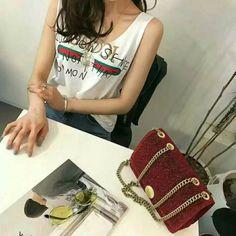 Letter Printing tank top - White,fashion teenage,summer fashion,fashion style,spring fashion,fashion 2017,womens fashion,Tank Tops,T-shirt