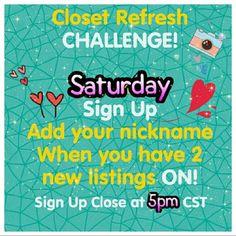 ⭐️SHARE GROUP CLOSET REFRESH CHALLENGE Other