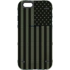 LIMITED EDITION – Authentic Made in U.S.A. Magpul Industries Bump Case for Apple iPhone 6/ iPhone 6s (Standard 4.7″ Size) (OD Green Subdued US Flag)  This Limited Edition Magpul Bump Case for the iPhone 6/6s (4.7″) is a semi-rigid cover designed to provide basic protection in the field. Made from a flexible thermo..