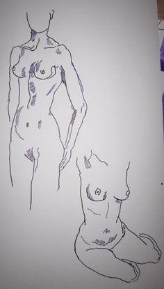 Skizzen Akt von Susanne Haun