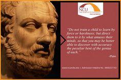 #TheNorthCapUniversity #MotivationalQuote #Plato