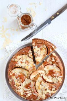Speculaas yoghurtcake met appel