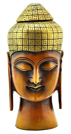 Lord Buddha Wooden Head - WHAT'S NEW...
