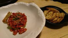 ¡Qué tartare el de Cata 1.81! #DionisioPimiento #Food #Foodie