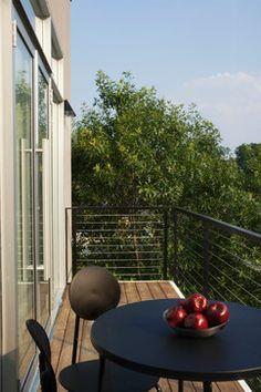 Contemporary Porch balconis Design Ideas, Pictures, Remodel and Decor