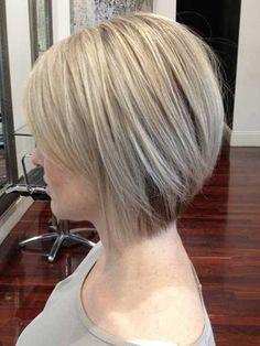 Short Haircuts for Women: Straight Bob