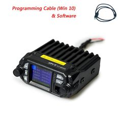 QYT KT-8900 25//20W Dual Band Mini Car Radio Mobile Transceiver VHF//UHF 136-174//400-480MHz Mobile Radio Amateur Ham Two Way Radios with Free Programming Cable /& Software CD