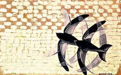 'Flight of the Swifts' painted by the Italian artist Giacomo Balla in 1913