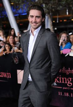 Lee Pace at the LA premiere of Breaking Dawn Part 2