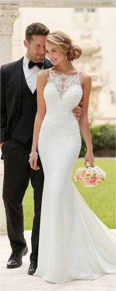 Gorgeous 100+ Best Inspirations Lace Wedding Dresses For You https://bridalore.com/2017/09/09/100-best-inspirations-lace-wedding-dresses-for-you/