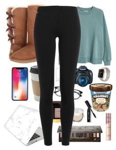 """Snow Day!"" by kamdanielson on Polyvore featuring H&M, UGG, Tom Ford, Bobbi Brown Cosmetics, Recover, Urban Decay, tarte, Canon and Polo Ralph Lauren"