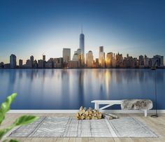New York City skyline Tapet