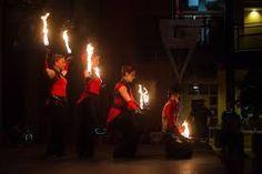 Fire & Ice Theme -> Fire Dancing