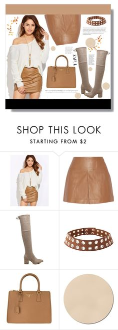 Zaful! by clumsy-dreamer on Polyvore featuring T By Alexander Wang, Prada, WALL and zaful