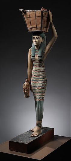 Estate Figure, Middle Kingdom, Dynasty 12, early reign of Amenemhat I, ca. 1981–1975 B.C. Thebes, Upper Egypt.