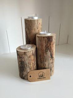 Teelichthalter+Treibholz+von+Kreatives-Treiben+auf+DaWanda.com