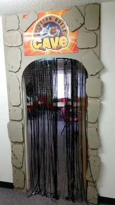 Mission Quest Cave entry - I have a BUNCH of incorrectly made trash bags that we can use for this!