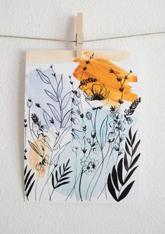 doodle art A Joyful Journey Shannon Kirsten Art Inspo, Kunst Inspo, Painting Inspiration, Inspiration Quotes, Journal Inspiration, Sketchbook Inspiration, Jellyfish Painting, Jellyfish Drawing, Watercolor Jellyfish
