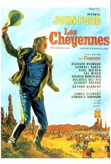 Carteles del cinema: 1964 - EL GRAN COMBATE - Cheyenne Autumn - John Ford