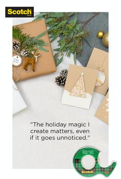 Christmas Ornament Crafts, Christmas Gift Wrapping, Holiday Crafts, Holiday Ideas, Christmas Decorations, Christmas Images, Christmas Holidays, Christmas Cards, Diy Crafts For Gifts