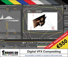 This course will introduce you to the #Art of Digital #Compositing and #VFX, helping you create invisible #effects that make the impossible, #possible, in a believable new #cinematic space - #Course starts:5th January 2015 - #Study #Filmmaking in #Malta - Visit: http://www.handsonmalta.com/short-courses/