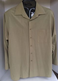 Geoffrey Beene Mens Dress Shirt XL Size 17 Commuter Twill  | Clothing, Shoes & Accessories, Men's Clothing, Dress Shirts | eBay!
