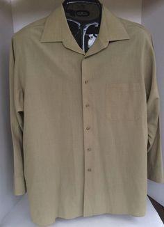 Geoffrey Beene Mens Dress Shirt XL Size 17 Commuter Twill  | Clothing, Shoes & Accessories, Men's Clothing, Dress Shirts | eBay!