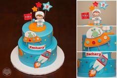 Astronaut cake.