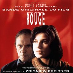 """From Krzysztof Kieślowski's film """"Trois couleurs: Rouge"""" ~ Music By Zbigniew Preisner ~ Finale ☸ڿڰۣ— Irene Jacob, Jean Louis Murat, Krzysztof Kieslowski, Film Red, Music Express, Man And Wife, Sr1, Go To Movies, Another Man"""