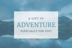 It is experiences and relationships we hold most closely, not things. Give the gift of Georgia Pellegrini's Fall 2017 Adventure Getaway.