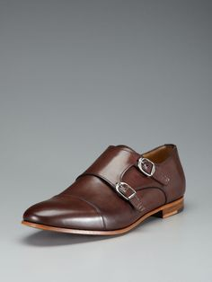 Some fancy-ass monkstraps from Antonio Maurizi, over at Gilt.
