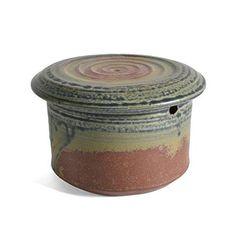 Holman Pottery French Butter Crock - The Barrington Garage Butter Crock, Butter Dish, Butter Bell, Handmade Pottery, Ceramic Pottery, Timeless Design, Glaze, Deserts, Im Not Perfect