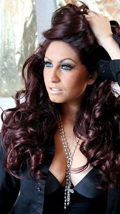 Tracy DiMarco from Style Networks Jerseylicious. Photography by Lora Warnick and hair by Jeff Greenfield