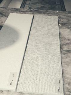 WZ Tatami 12 x 24 Zinc (darker) Snow(whiter) $31 sf (gross)