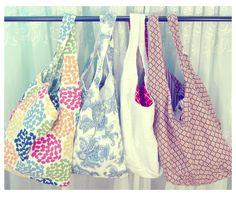 Beautiful tote bags
