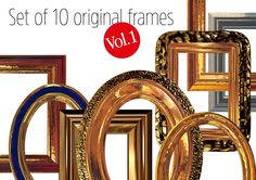 This package contains 10 original frames to various applications. You can use it in your graphic design, designing the website and in the photo arrangement. A limitation of the use of frames is your imagination only.  Images are saved in high resolution 300 DPI as TIF files Size of images with bleed