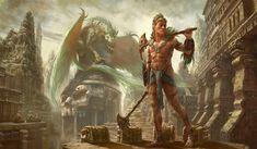 ArtStation - Dragon Warrior, Matt Cowdery