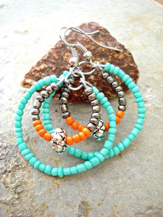 Boho Jewellery  Boho Earrings  Yoga Jewellery  by HandcraftedYoga, $23.00