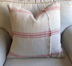 French linen pillow