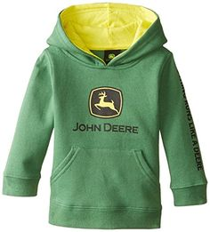 John Deere Baby Boys Trademark Fleece Green 24 Months >>> More info could be found at the image url. (This is an affiliate link) #BabyBoyHoodiesandActive