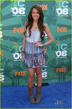 Miley Cyrus at the Teen Choice Awards 2008 <3