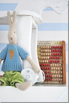 Maileg rabbit - Lapin Maileg, vu chez Minty House