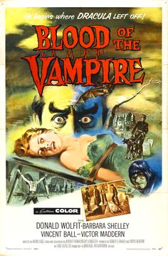 Blood Of The Vampire....1958