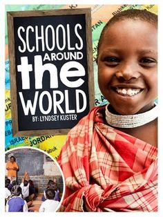 Schools Around the World {A Complete Nonfiction Resource} by Lyndsey Kuster Schools Around The World, Kids Around The World, Around The Worlds, Multicultural Classroom, Classroom Activities, Diversity Activities, Multicultural Activities, Montessori Classroom, Classroom Fun