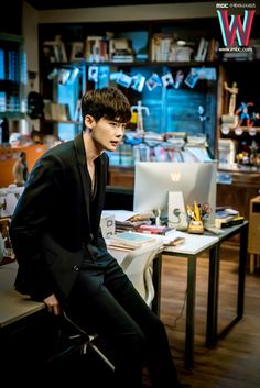Kang Chul Lee Jong Suk W the two worlds W Kdrama, Kdrama Actors, W Two Worlds Wallpaper, W Korean Drama, Dramas, Lee Jong Suk Wallpaper, Kang Chul, Song Joong, Lee Jung Suk
