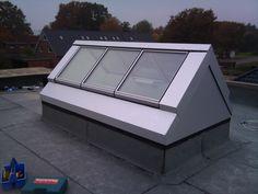 Flachdachfenster | GSL. Glasolux - Dachglassysteme | Atelierfenster, Flachdachfenster, Dachverglasung mit RWA