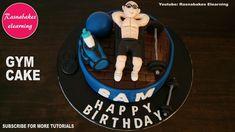 Simple cake design Gym fitness theme cake for men boyfriend husband dad 40th Birthday Cakes For Men, Birthday Cake For Husband, Special Birthday Cakes, Beautiful Birthday Cakes, Themed Birthday Cakes, Husband Cake, Male Birthday, Surprise Birthday, 21st Birthday
