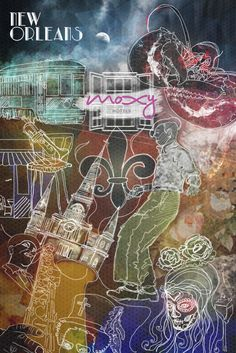 New Orleans_Artwork for Moxy Hotels
